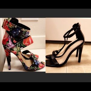 Get the 2 pairs High heels for $20